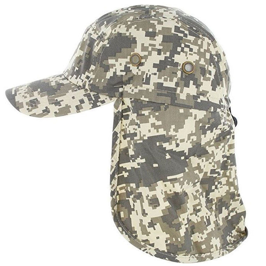 Baseball Fishing Ear Flap Cap