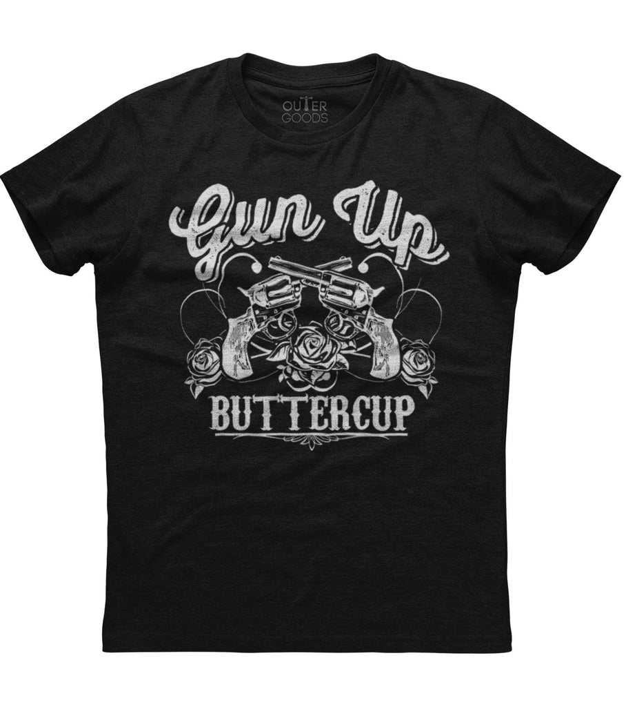 Gun Up Buttercup T-shirt (O)