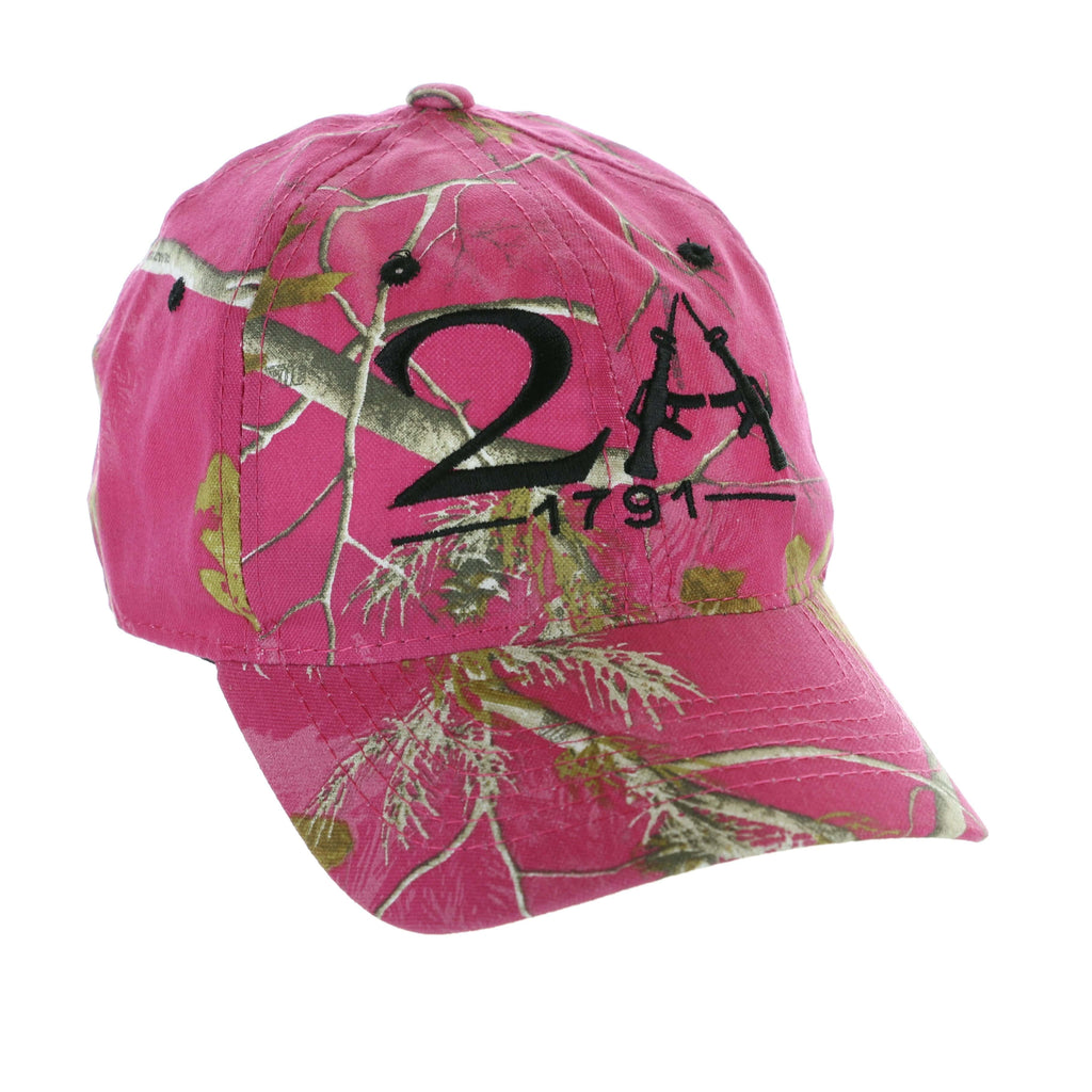 Pink Realtree Second Amendment 1791 Hat (O)