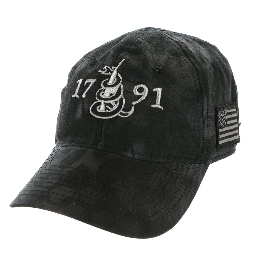 Classic 2A Second Amendment 1791 Kryptek Hat (O)