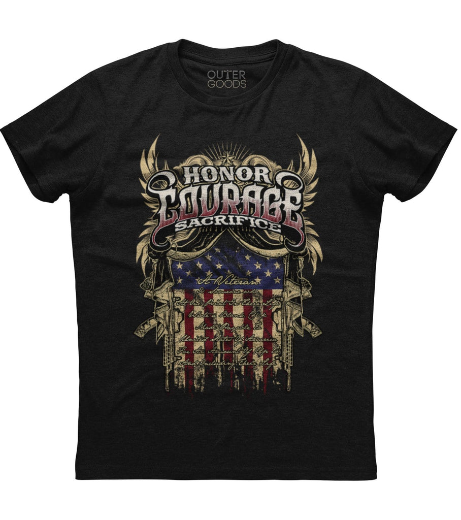 Honor Courage Sacrifice T-Shirt (O)