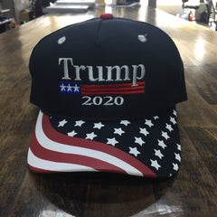 Trump 2020 American Flag USA Hat