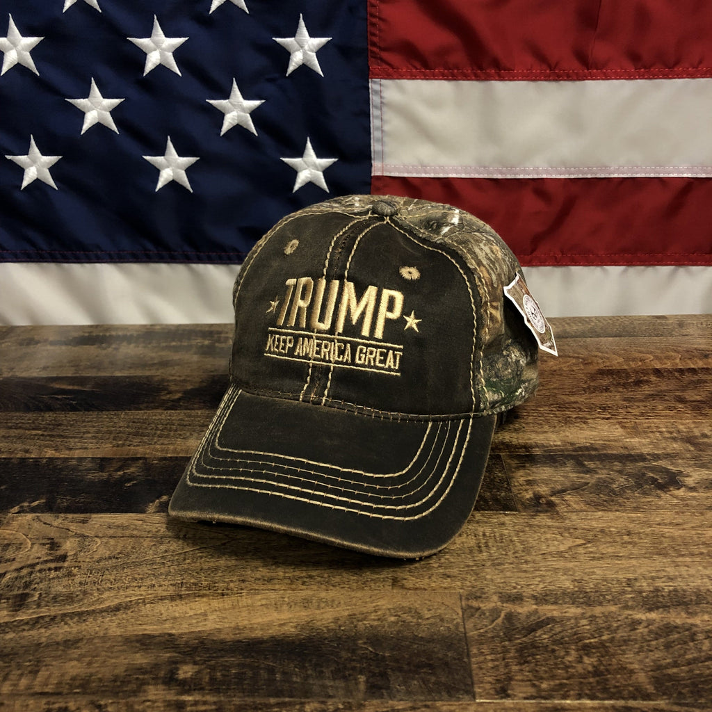 Donald Trump 2020 Keep America Great Authentic Mossy Oak Hat