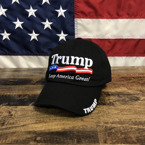 Black U.S.A President Donald Trump 2020 Hat