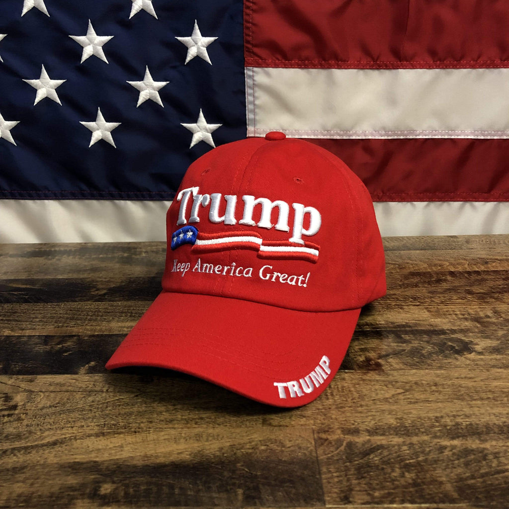 Red U.S.A President Donald Trump 2020 Hat