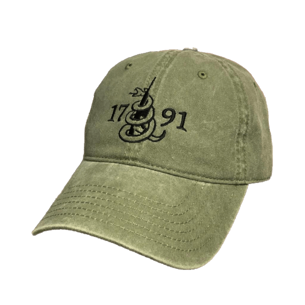 This Is The 2nd Amendment 1791 Authentic Hat