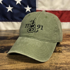 This Is The 2nd Amendment 1791 Authentic Hat (O)