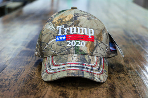 Donald Trump 2020 RealTree Authentic Hat
