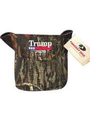Donald Trump 2020 Authentic Mossy Oak Visor