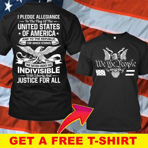 Justice For All T-Shirt ( Free T-shirt Hat )