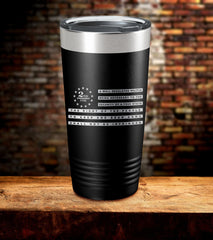 We The People 2nd Amendment Laser Engraved Tumbler (FD2020)