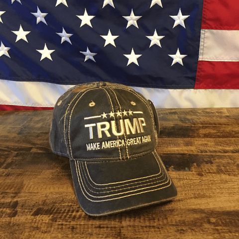 Donald Trump USA Make America Great Again Mossy Oak Hat