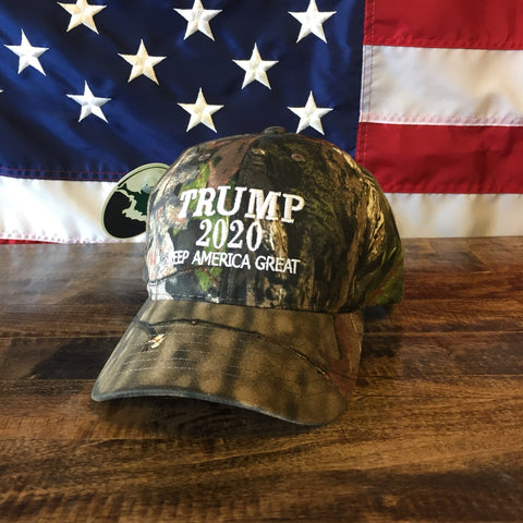 Donald Trump Keep America Great Authentic Realtree Camo Hat - MADE IN USA