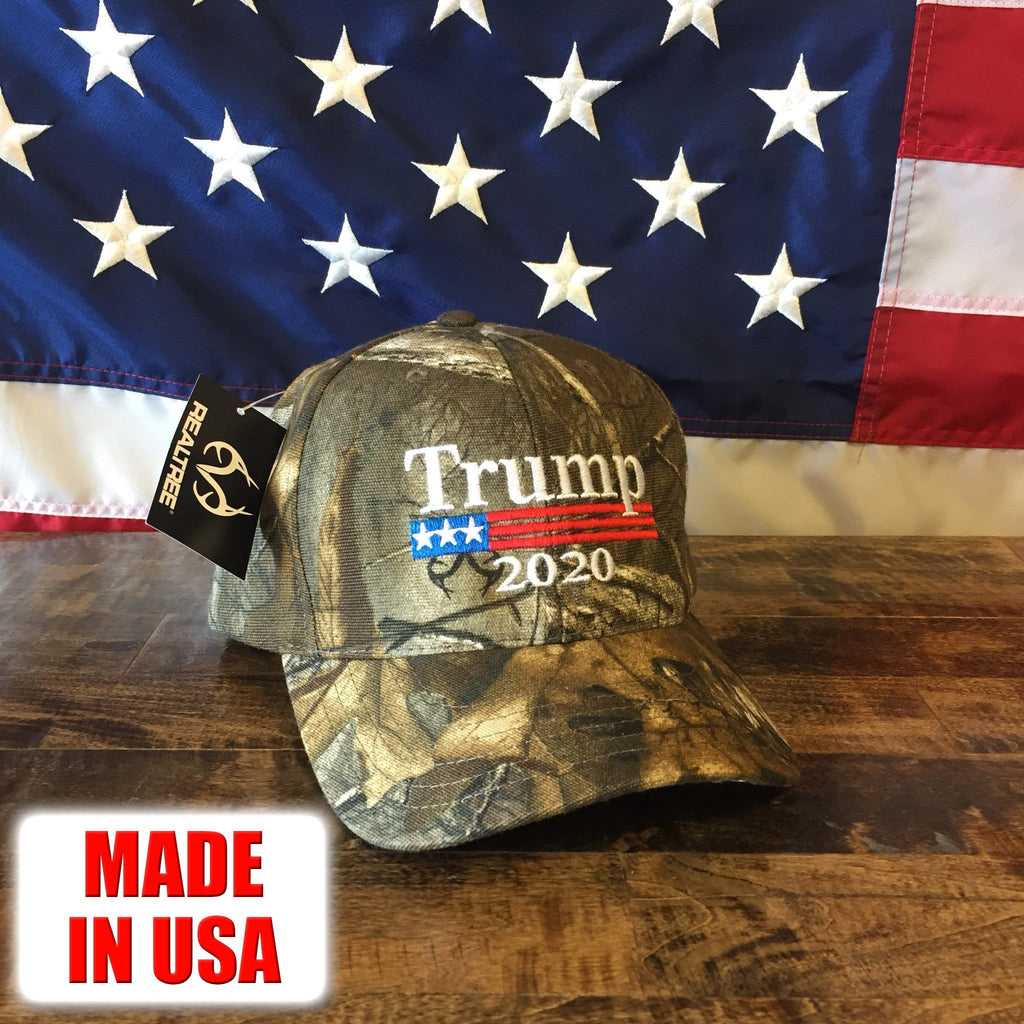 President Trump 2020 Authentic Realtree Camo Hat - MADE IN USA