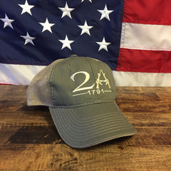 2nd Amendment 1791 Authentic Hat