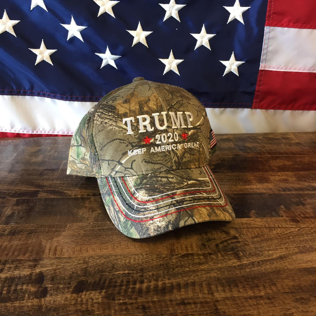 Donald Trump 2020 KAG Keep America Great Authentic Camo Hat