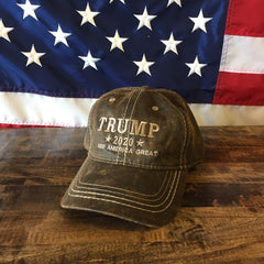 Donald Trump USA Keep America Great Mossy Oak Hat