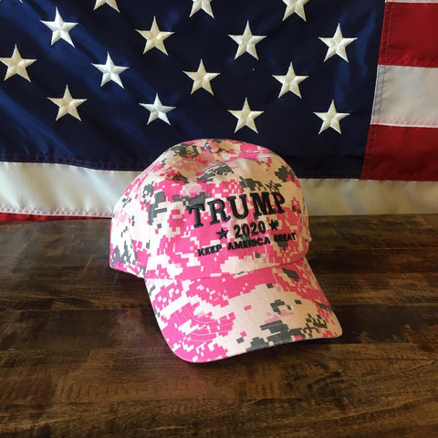 Donald Trump Keep America Great Pink Authentic Hat