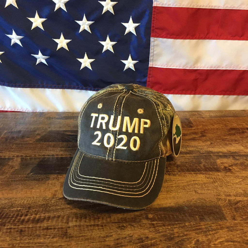 Donald Trump 2020 The United States Of America Authentic Mossy Oak Hat