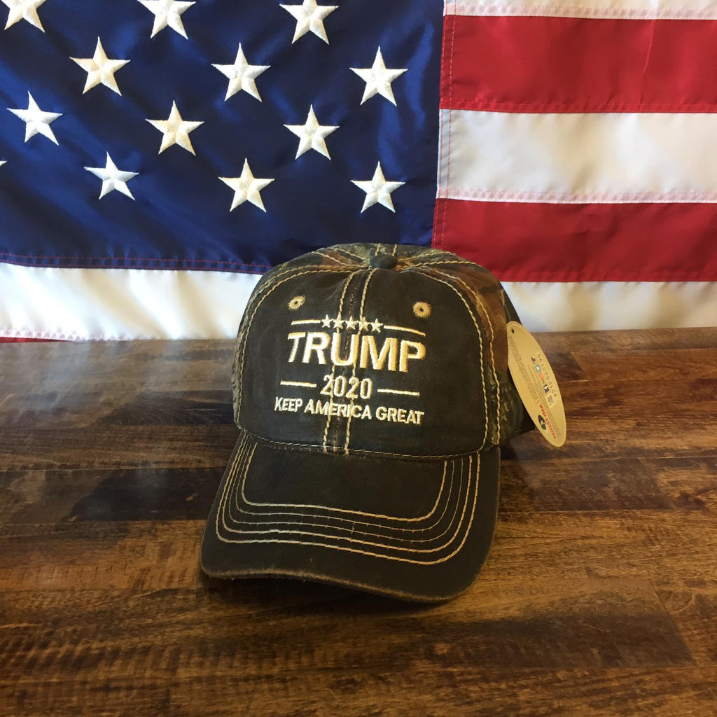 President Donald Trump 2020 KAG Keep America Great Mossy Oak Hat
