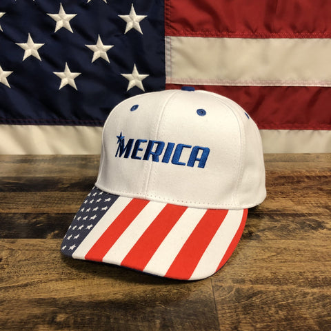 The Merica Authentic White Hat