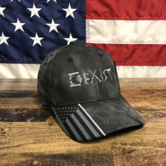 2nd Amendment Co Exist Black Kryptek Hat