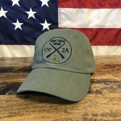 Don't Tread On Me 2nd Amendment 1791 Authentic Hat