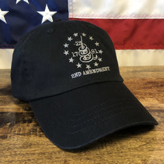 2nd Amendment 1791 Black Authentic Hat