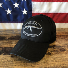 Established 1776 2nd Amendment Black Hat