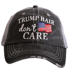 Trump Hair Don't Care Mesh Back Hat
