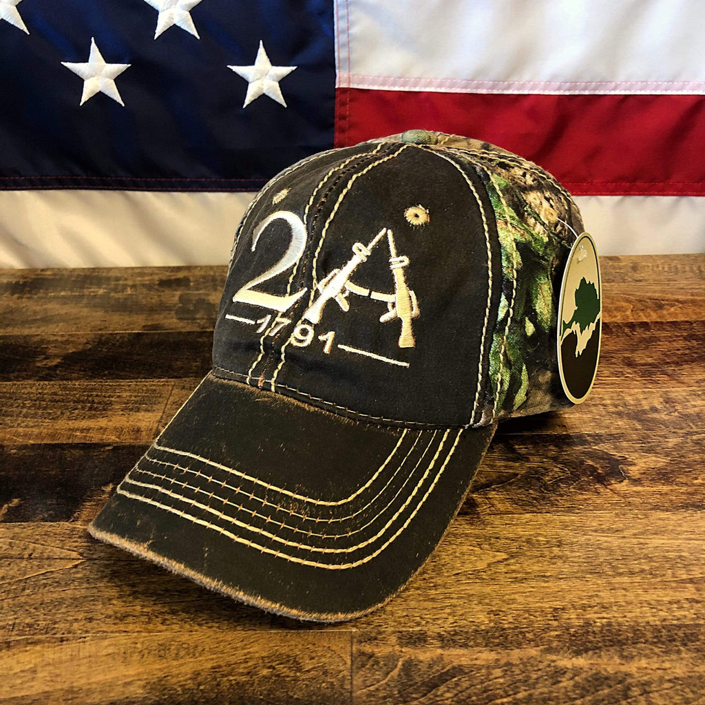 The 1791 2nd Amendment Authentic Camo Hat (BS)