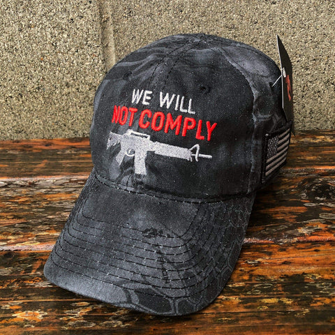 We Will Not Comply Amendment Black Hat