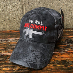 We Will Not Comply Amendment Black Hat (O)