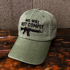 We Will Not Comply Amendment Hat (MSK)