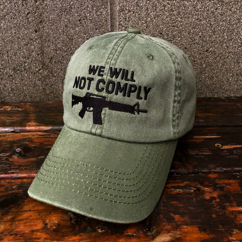 We Will Not Comply Amendment Hat