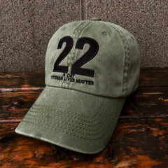 22 A Day Veterans Lives Matter Hat
