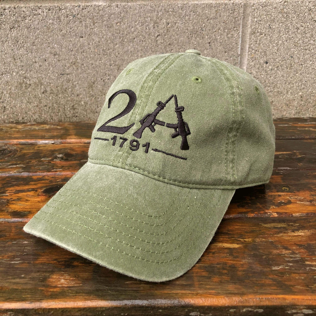 2A The Second Amendment Hat (O)