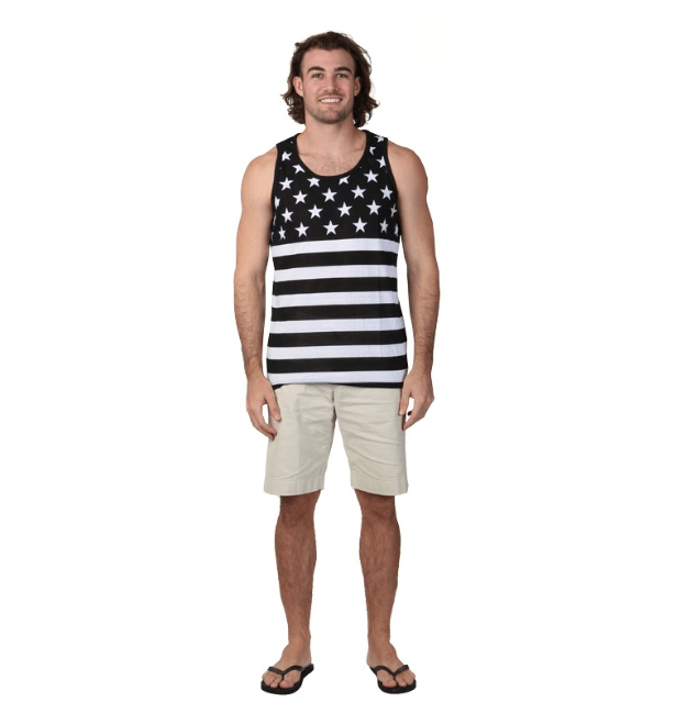 Flag Tank Top For Men