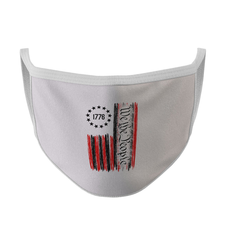 We The People New White Color Washable Face Mask (FD20)