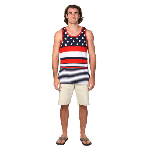 Flag Men's Tank Top