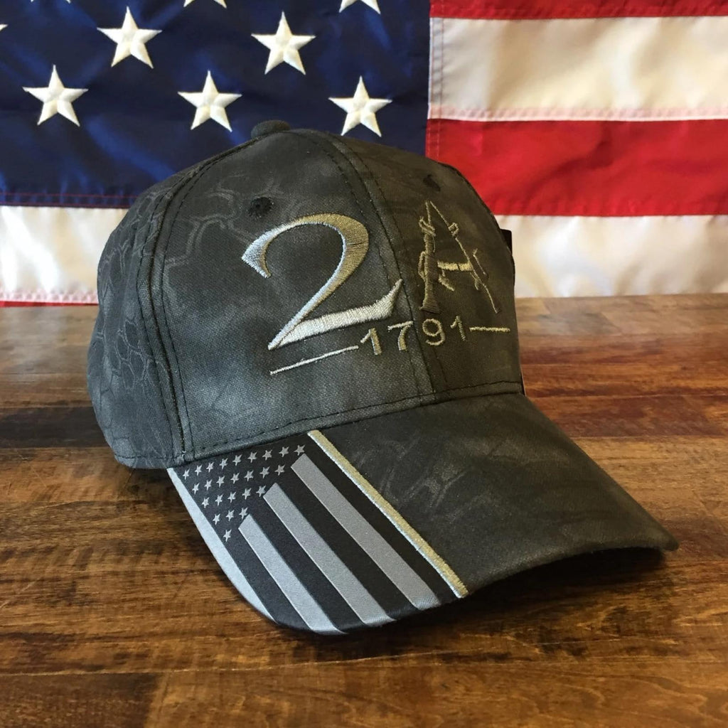 2A 1791 Authentic Kryptek Typhon Hat (D)
