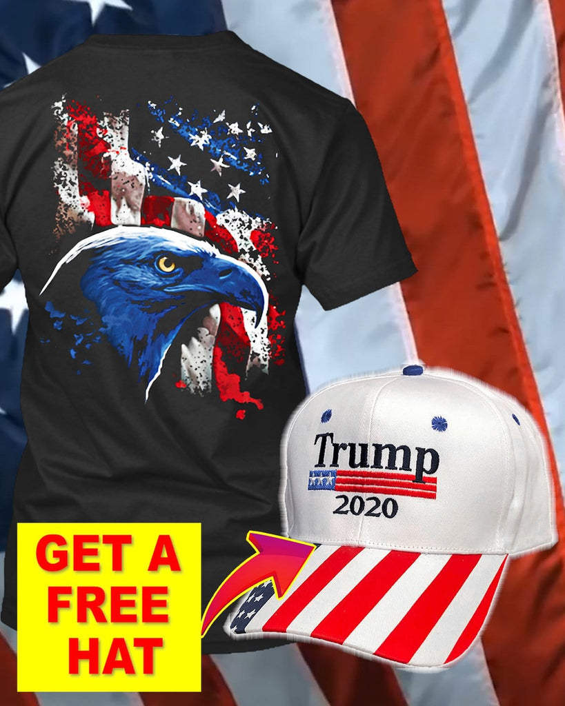 This Is The America Freedom T-Shirt ( Free Trump Hat )