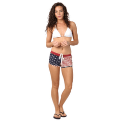 Cool Color American Flag Shorts