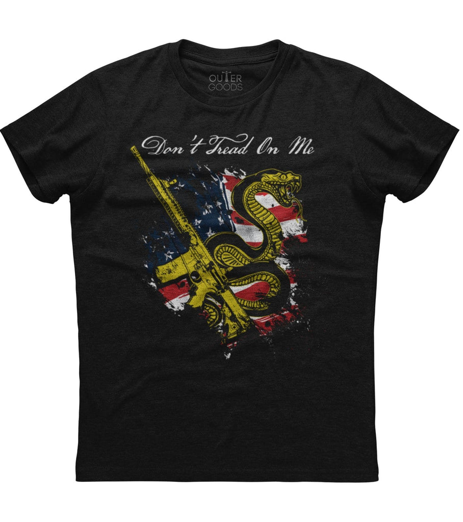 Don't Tread on Me Snake T-Shirt (O)