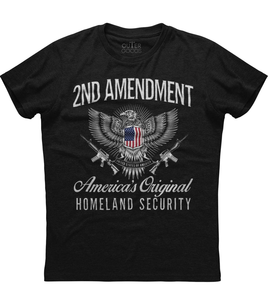 Americas Original Homeland Security Amendment T-Shirt (O)