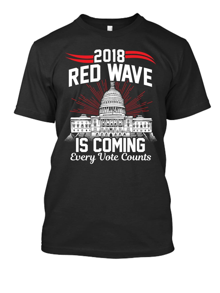Red Wave Is Coming T-Shirt