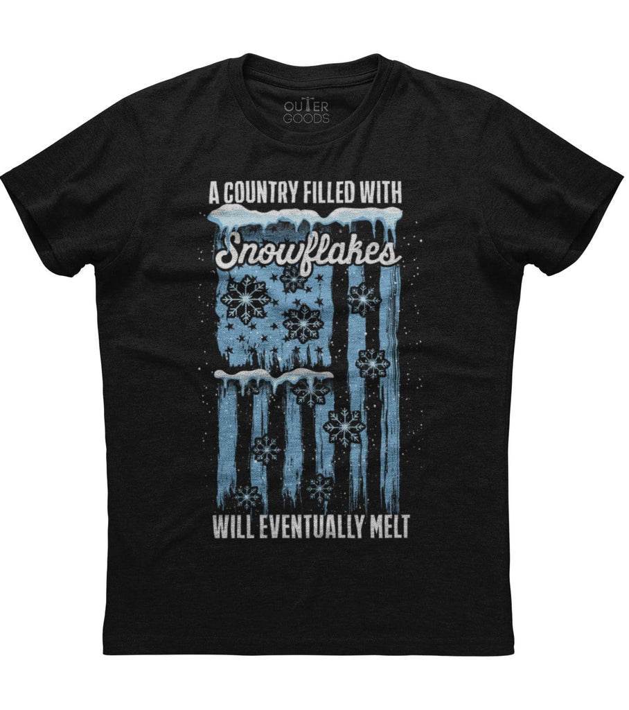 A country filled with snowflakes T-Shirt (O)