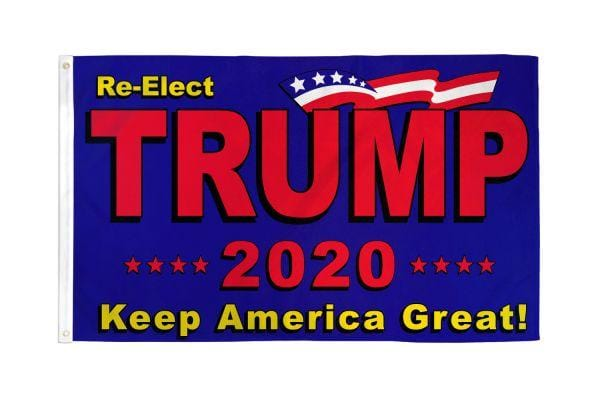 Trump 2020 Flag 3X5 ft. Poly