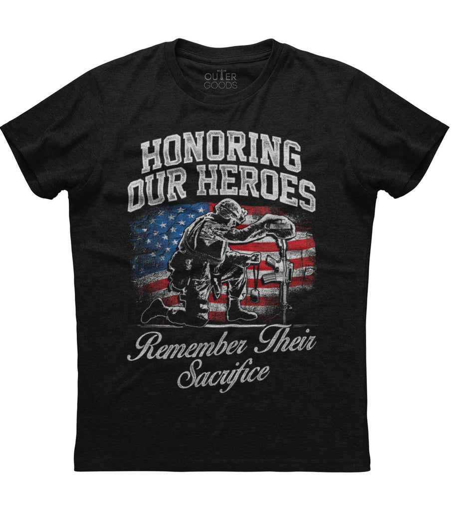 Honoring our Heroes T-shirt (O)