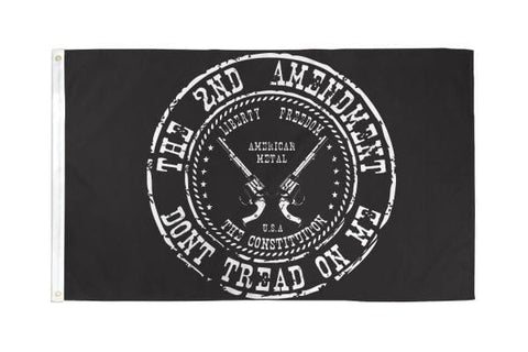 2nd Amendment Flag 3x5ft Poly